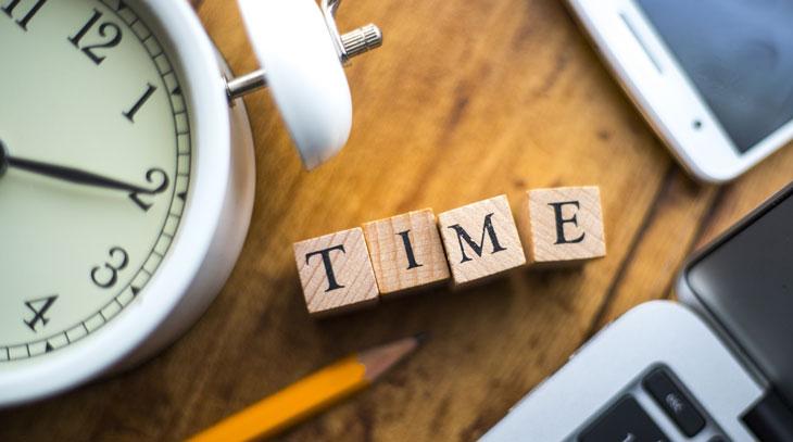 書く時間を決める